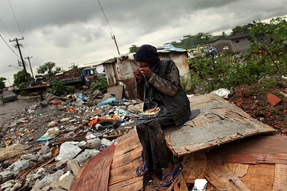 La pobreza en Brasil es apabullante