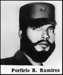 Porfirio Remberto Ramírez Ruiz, jefe de las guerrillas campesinas anticomunistas. Fusilado por Castro