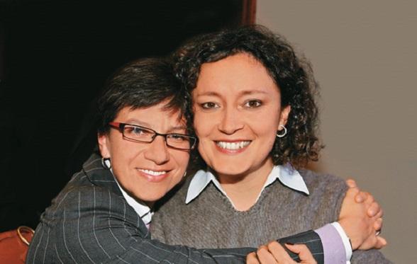 Claudia López y Angélica Lozano, congresistas pro matrimonio gay y pro adopción gay