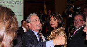 Álvaro Uribe Vélez et Martha Lucía Ramírez