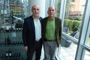 El General Mendieta y Ricardo Angoso