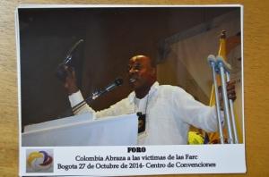Rubén Blandón en el evento del 27 de octubre, explica qué quiso decirle al ministro Cristo cuando levantó su zapato
