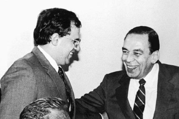 Ernesto Samper y Álvaro Gómez