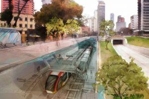 Visualización del metro