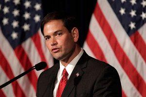 Marco Rubio, senador Republicano. Hijo de inmigrantes