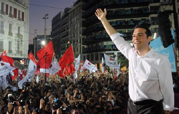 En Grecia la izquierda venció