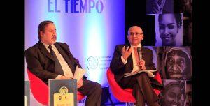 Gustavo Gallón y el Fiscal general Luis Eduardo Montealegre