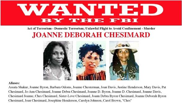 Joanne Chesimard,  alias Assata Shakur