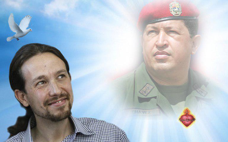 Pablo Iglesias, de Podemos, financiado desde Venezuela