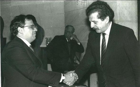 Ernesto Samper y Luis Carlos Galán, más cercanos de lo que Colombia se imagina