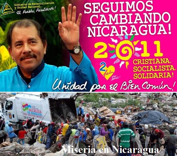 Daniel Ortega, el típico multimillonario comunista, enriquecido a costillas del pueblo engañado