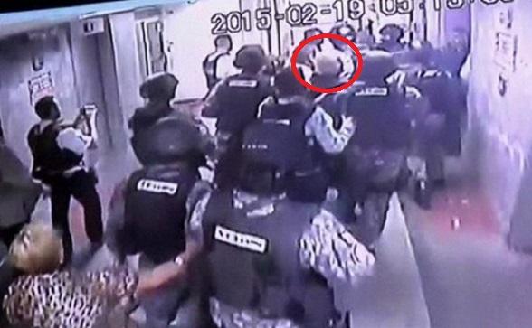 Así se llevaron preso a Ledezma, alcalde de Caracas