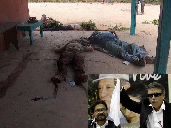 Masacre de las FARC en el Puerto de San Salvador. ¿Será que el cinismo de Márquez y Santrich les impide recordarla?