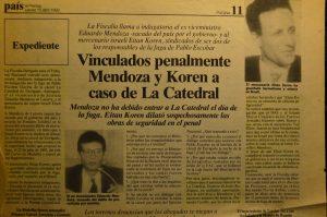 El escándalo del socio y amigo de Fernando Carrillo, Eitan Koren, quien quedó en la impunidad