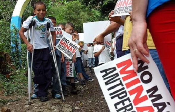Las criminales minas anti-persona que las FARC han sembrado en gran parte del país