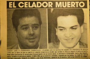 Isaac Lee, hoy presidente de Univisión, y Fernando Carrillo, hoy embajador en España