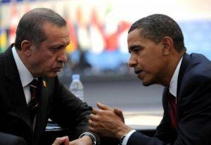 Obama y Recep Tayyip Erdogan