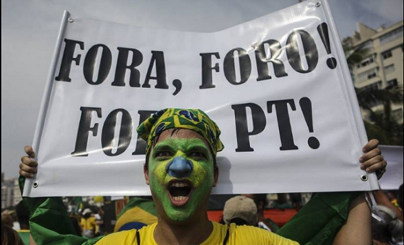 Fuera Foro (de Sao Paulo). Fuera PT