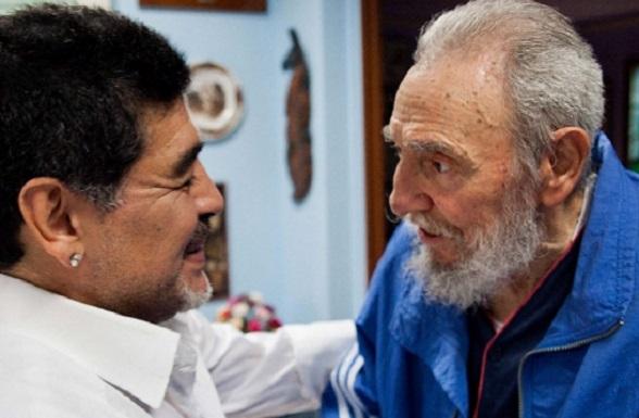 Diego Maradona, admirador y embajador de la tiranía cubana