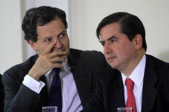 Sergio Jaramillo y Juan Fernando Cristo