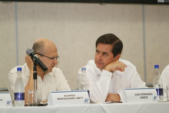 Eduardo Montealegre y Juan Fernando Cristo