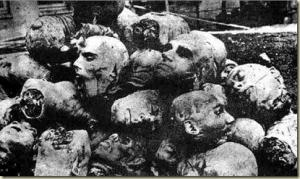 Restos del genocidio armenio
