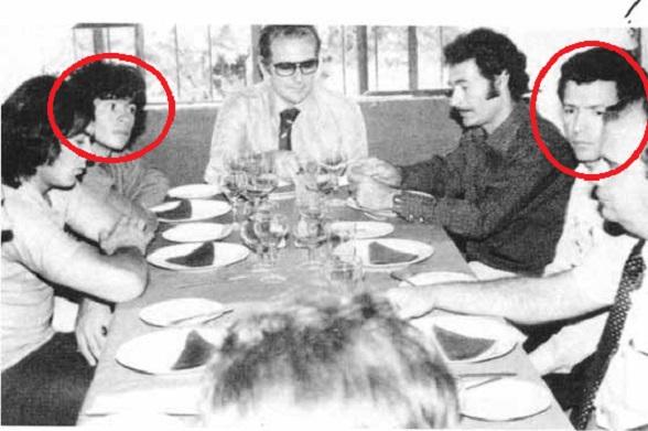Diego Maradona con uno de sus grandes amigos, Miguel Rodríguez Orejuela