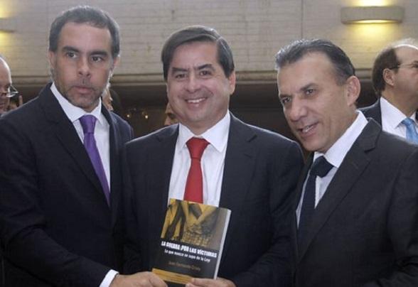 Armando Benedetti, Juan Fernando Cristo y Roy Barreras