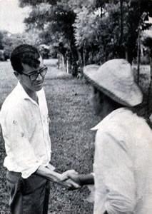 Héctor Gallego evangelizando en Santiago de Veraguas
