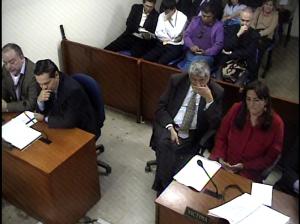 Audiencia imputación Ricardo Puentes