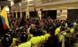 ECUADOR PROTESTA CONTRA LA TIRANÍA DE CORREA