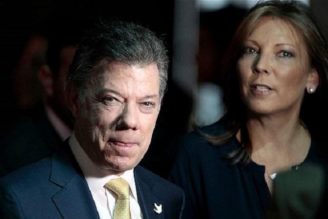 Santos tiene a Colombia al garete