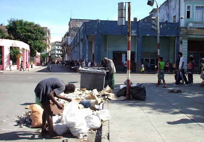 La pobreza y la violación de los DDHH en Cuba es lamentable