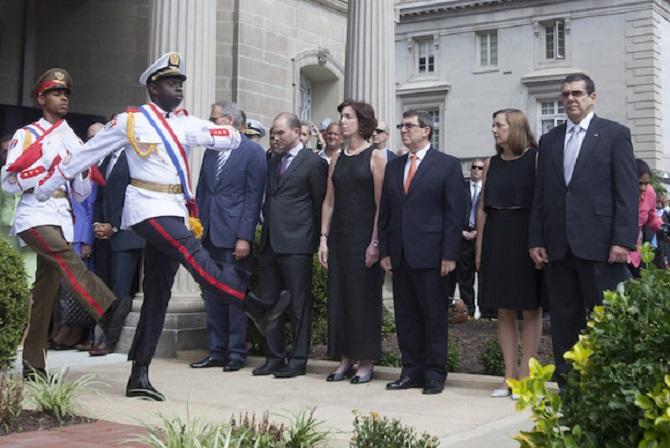 Reapertura de la embajada de Cuba en Washington