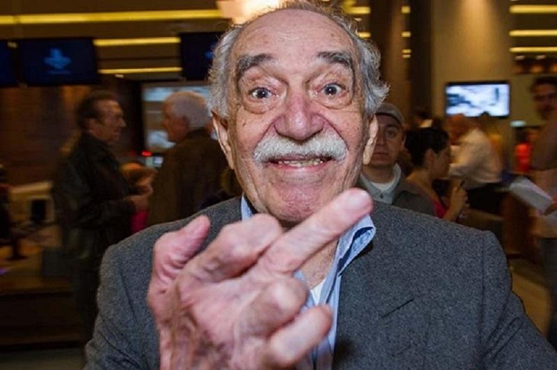 Gabo y su gesto predilecto