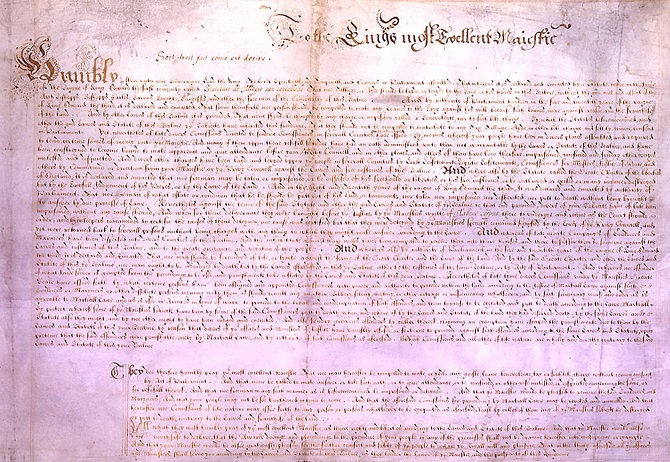 Extracto de la Carta Magna de 1215