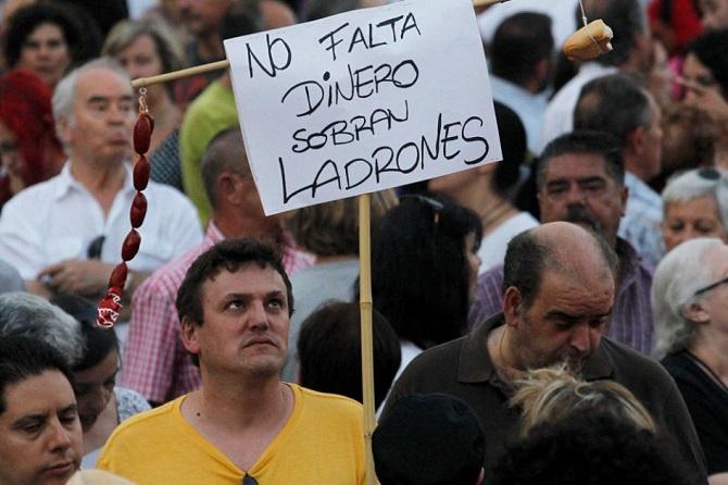 La crisis en España viene desde hace bastante tiempo