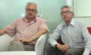 """Everth Bustamante y Carlos Valverde.. Antiguos """"compañeros de lucha"""" y ambos en el Centro Democrático"""
