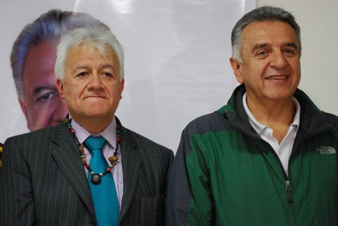 Everth Bustamante y Luis Eduardo Garzón, M-19