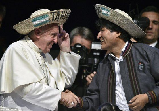 BOLIVIA: EL DISCURSO SOCIAL DEL PAPA