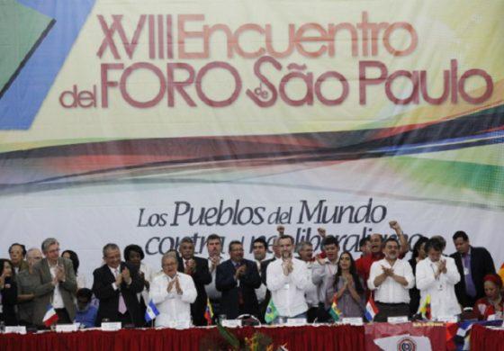 EL FORO DE SAO PAULO EN LOS ESTADOS UNIDOS