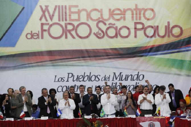 Foro de Sao Paulo, un peligro para la democracia