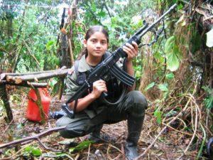 Niños en las FARC. Y el primer ministro francés pretende no darse por enterado