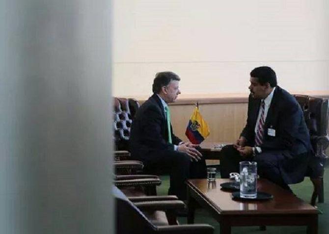 Santos y Maduro. ¿Qué acuerdan?