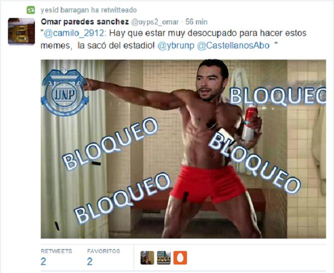 Andrés Villamizar: Bloqueo, bloqueo, bloqueo, bloqueo..