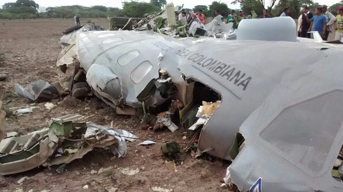 "Avión ""accidentado"" en Codazzi, César"