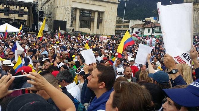 Bogotá  (Foto Liliana Melo y Zoilo Nieto)