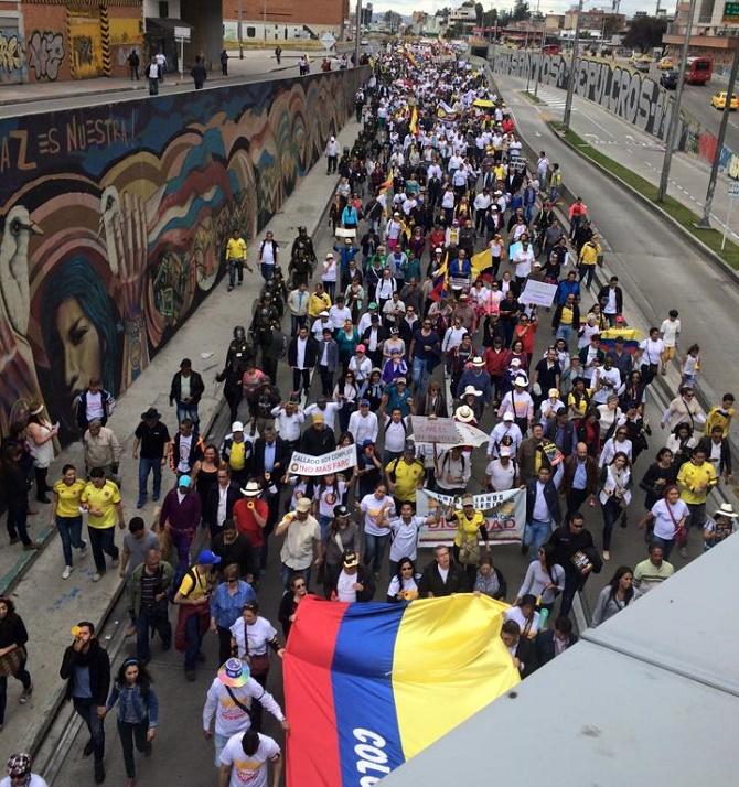 Bogotá, (Foto Pedro Amaya)