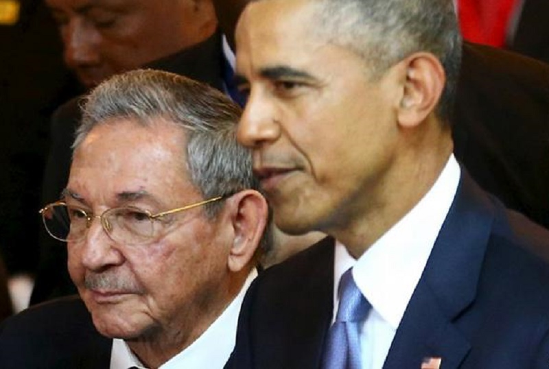 ESTADOS UNIDOS: OBAMA SANCTIFIES THE CASTRO-COMMUNIST REGIME