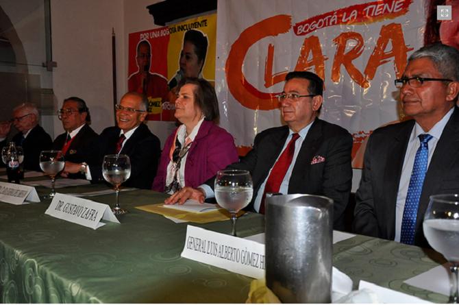 Clara López, apoyada por el partido Liberal